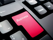 Business Keyboard Royalty Free Stock Images