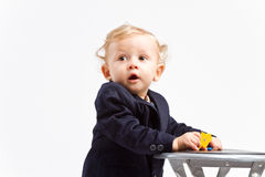 Business kid Royalty Free Stock Images