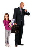Business kid Stock Photo