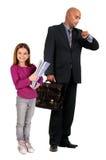 Business kid Stock Photo
