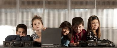 Business Kids Stock Photography