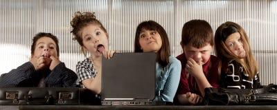Business Kids Stock Image