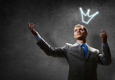 Business king Stock Photography