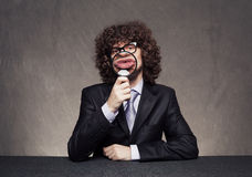 Business kiss Royalty Free Stock Photography