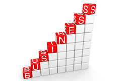 Business Ladder Royalty Free Stock Photography