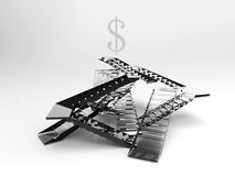The business ladder Royalty Free Stock Photo
