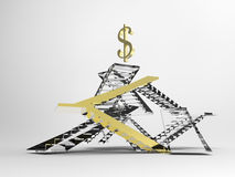 The business ladder Stock Images