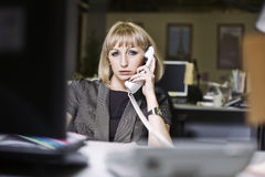 Business ladie in the office Stock Photo