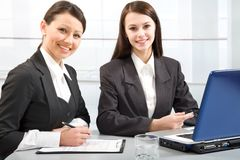 Business ladies Royalty Free Stock Images