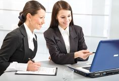 Business ladies Stock Image