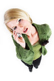 Business Lady #1 royalty free stock photography