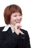 Business lady Royalty Free Stock Photos