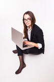 Business lady, call center Stock Image