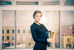 Business lady portrait Royalty Free Stock Photo