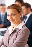 Business Lady Smiling. Stock Image