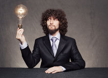 Business lamp Stock Photo