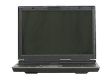 Business laptop - generic model Stock Photography
