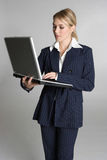 Business Laptop Woman Stock Photos