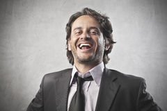 Business Laugh Stock Photo