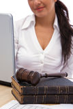Business laws Royalty Free Stock Image