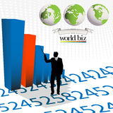 Business layout Stock Images