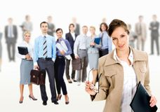 Business leader stock photography