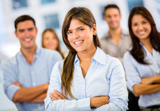 Business leader Stock Image