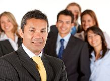 Business leader Stock Photo