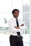 Business leader with arms Folded Stock Photography