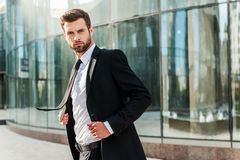 Business leader. Royalty Free Stock Photos