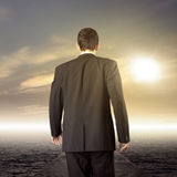 Business leader journey Royalty Free Stock Photo