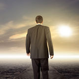 Business leader journey Royalty Free Stock Images