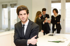 Business leader looking at camera Royalty Free Stock Photo