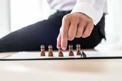 Business leader making human resources decisions royalty free stock photos