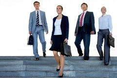 Business leaders Royalty Free Stock Image