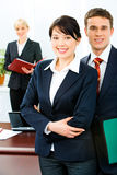 Business leaders stock photography