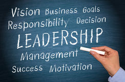 Business leadership royalty free stock photography