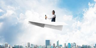 Business leadership and motivation concept stock photography