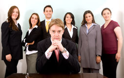 Business leadership and team Stock Photo