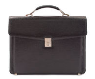 Business leather briefcase Stock Photography
