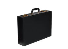 Business leather briefcase. Stock Photo