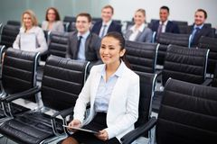 Business lecture Royalty Free Stock Image