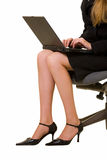 Business legs Stock Images