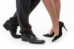 Business legs. Royalty Free Stock Photography
