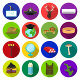 Business, leisure, tourism and other web icon in flat style.cactus, nature, ecology icons in set collection. Business, leisure, tourism and other  icon in flat Stock Photo