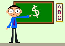 Business lesson Royalty Free Stock Photography