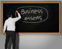 Business Lessons Concept Royalty Free Stock Photo