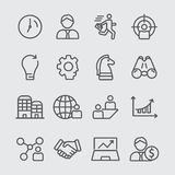 Business line icon Stock Images