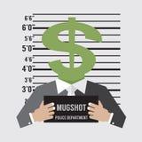 Business Litigation Concept. Vector Illustration Royalty Free Stock Image