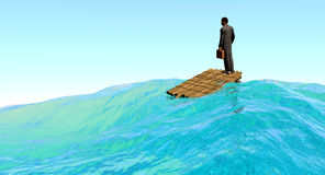 Business Adrift Royalty Free Stock Photo